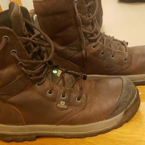 Womans work boots csa 8inch size 9.5